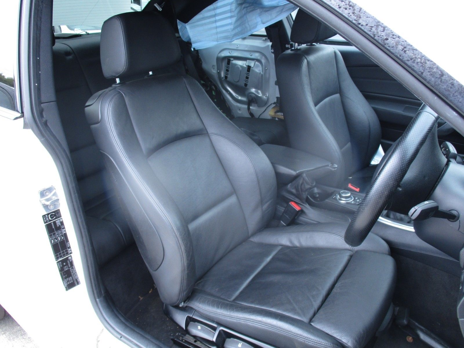 2010 Bmw 1 Series M Sport E82 Complete Black Leather Interior Birnam Motor Salvage